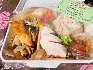 ソラカフェなないろじかんのお弁当販売 @ 藤ノ木さんかく広場